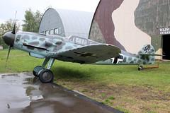 Messerschmitt BF109G-6 Luftwaffe 163306/Red 3+ (NTG842) Tags: polish aviation museum krakow muzeum lotnictwa polskiego w krakowie messerschmitt bf109g6 luftwaffe 163306red 3