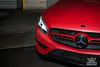 MERECEDS Benz E Class Matte Red Vinyl Wrap (crownautony) Tags: mereceds benz e class matte red vinyl wrap