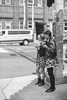 Flower Skirt Girls (Taomeister) Tags: contaxrx ilfordpanf panf50 seattle planar50mmf14