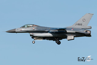 J-866 Royal Netherlands Air Force Fokker F-16AM Fighting Falcon