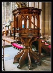 Pulpit (veggiesosage) Tags: church stmaryschurch nottingham aficionados gx20 grade1listed