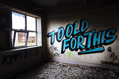 woop...woop..it's the sound of the grammar police! (I AM JAMIE KING) Tags: graffiti lordline standrewsdock abandoned decay derelict dock fishingindustry heritage hull sona