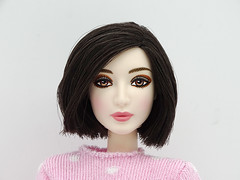 Short hair (FreeRangeBarbie) Tags: fanbingbing barbie obitsu hybrid pink kawaii diy outfit