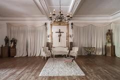 JESUS FREAK ♱ (danieljakob22) Tags: holyshit heilig holy verlassen urbanexploring urbex weis white abandoned kruzifix kreuz cross jesusfreak jesus
