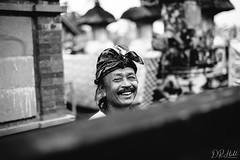 Happy (D. R. Hill Photography) Tags: ubud bali indonesia balinese asia southeastasia portrait man happy smile monochrome blackandwhite bokeh depthoffield travel nikon nikond750 d750 nikon50mmf14g nikon50mm 50mm primelens fixedfocallength