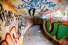 Flying By (Thomas Hawk) Tags: america california cossonhall sf sagehall sanfrancisco starburst ti treasureisland usa unitedstates unitedstatesofamerica westcoast abandoned barracks decay graffiti fav10 fav25