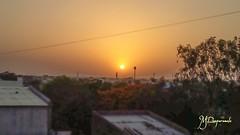 Sunset🌇😍 (mohdram0786) Tags: cloud sunset sun pretty beautiful nature clouds gorgeous warm view