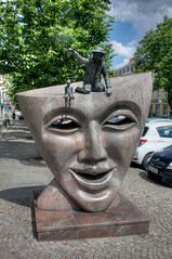 Statue of Puppeteer (Kevin Borland) Tags: poland białystok