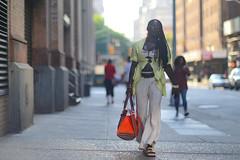 A woman on Astor Place near Broadway. (kevinrubin) Tags: newyorkcity street streetphotography nyc newyork unitedstates us