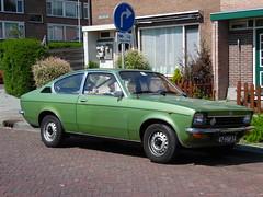 Opel Kadett Coupé (18 11 1975) (brizeehenri) Tags: opel kadett 1975 47hm54 rozenburg