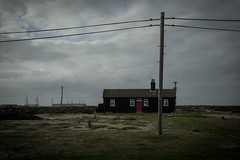 the house in Dungeness (stocks photography.) Tags: michaelmarsh photographer beach seaside coast dungeness thehouseindungeness coastal shingle