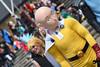 MCM London Film & Comic Con, May 2018 (Sean Sweeney, UK) Tags: mcm london film comiccon comic con lfcc excel 2018 nikon d810 dslr uk united kingdom mcmldn18 cosplay candid people dressed up dressedup costume fallout mask yellow