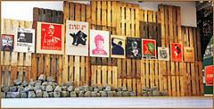 """""""Get Up, Stand Up!"""" """"Changing the world with posters"""", l'affiche rebelle ou l'art de la révolte, exposition au MIMA (Millennium Iconoclast Museum of Art), Molenbeek, Bruxelles, Belgium (claude lina) Tags: claudelina belgium belgique belgië bruxelles brussels mima millenniumiconoclastmuseumofart musée museum exposition poster affiche getupstandup changingtheworldwithposters molenbeek pavés"""