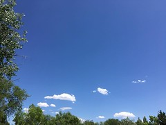 May 24, 2018 - Clear skies in Thornton. (LE Worley)