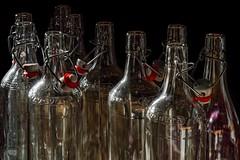 Empty Bottles (picsessionphotoarts) Tags: stilllifephotography stillleben sony sonyphotography sonyalpha6500 ilce6500 home athome e1670mmf4zaoss stillife glasflaschen bottles flaschen leereflaschen emptybottles glas