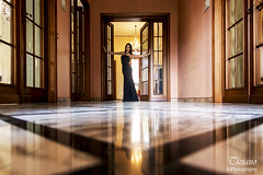 backlighting and reflections (Tiziano Photography) Tags: woman reflections backlight door floor nikond750 d750 nikon fashion light indoor lines donna riflessi pavimento controluce linee interni