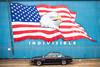 Indivisible (Thomas Hawk) Tags: america americanflag bmw bmw30cs bmwe9 e9 fredwahlmarineconstruction oregon oregoncoast patriotism reedsport usa unitedstates unitedstatesofamerica auto automobile baldeagle car classiccar eagle flag mural us fav10 fav25 fav50