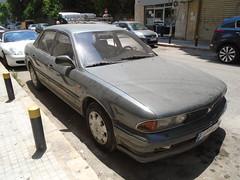 1993 Mitsubishi Sigma (Alpus) Tags: mitsubishi sigma rare car japanese retro lebanon beirut june 2017