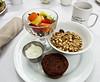 photo - Breakfast, Presidents' Quarters, Savannah (Jassy-50) Tags: photo savannah georgia presidentsquartersinn presidentsquartersbb presidentsquarters inn bb hotel breakfast food branmuffin muffin muesli cereal fruit