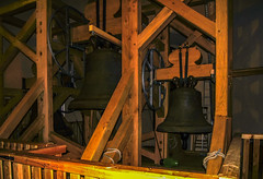 Glockenstuhl der St Annenkirche (Karabelso) Tags: annaberg st annenkirche turm besteigung höhe ca 80m mühevoll ausblick lohnt sich interessant buchholz