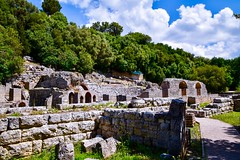 The Agora of Buthrotum (rustyruth1959) Tags: assembly marketplace publicspace history historicalsite grass greenery stonework building structure architecture gathering meetingplace forum agora ancientcity butrintancientcity buthrotum butrint sarande vlorecounty albania europe tamron16300mm nikond5600 nikon alamy arch stone wall tree woodland forest sky clouds path shadows ruins archaeology