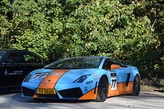 Lamborghini Gallardo LP560-4 (D's Carspotting) Tags: lamborghini gallardo lp5604 belgium knokke blue gulf 20161009 sv5600 zoute grand prix 2016 zgp16 zgp2016