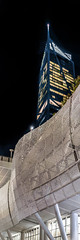 181 fremont vertical panorama (pbo31) Tags: sanfrancisco city california night dark urban june 2018 color boury pbo31 nikon d810 black transbay transit center 181fremont financialdistrictsouth panoramic large stitched panorama vertical yellow architecture contemporary