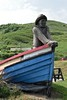 Skinningrove (Terry Madeley) Tags: skinningrove statue boat