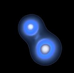 Alpha Centauri A and B in X-Rays, variant (sjrankin) Tags: 7june2018 edited nasa star alphacentauri alphacentauria alphacentaurib chandra chandraspacetelescope xray
