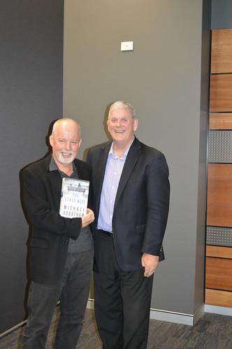 Michael Robotham book fan photo