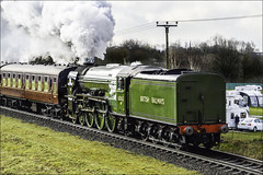 Good morning Campers .. (Elaine 55.) Tags: eastlancsrailway burrscountrypark tornado steam engine train camping