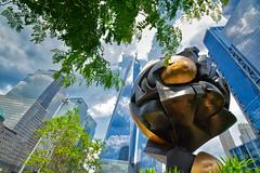 The Sphere (Joe Marcone (3.1 Million+ Views)) Tags: thesphere wtc freedomtower lowermanhattan newyorkcity 911memorial 911sphere 1001nights 1001nightsmagiccity