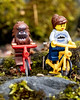 2018-06-09 Riding bikes in the woods (Mary Wardell) Tags: lego minifigs bicycles toys colors fun portland canon80d rhododendrongarden