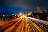 All roads lead to Sydney    North Sydney (David Marriott - Sydney) Tags: northsydney newsouthwales australia au 15mm fisheye night nsw warringah freeway long exposure north sydney