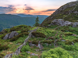 Dawn over Langdale