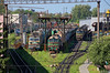 Lviv-zakhid depo, 2018/05/21. (lg-trains) Tags: ukraine ukrainian railways trains trainspotting transport lviv depot