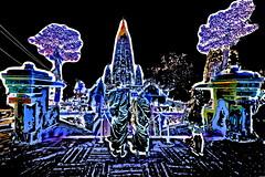 India - Bihar - Bodhgaya - Mahabodhy Temple - 113dd (asienman) Tags: india bihar bodhgaya mahabodhytemple asienmanphotography asienmanphotoart