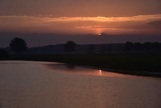 Sonnenaufgang an der Alten Treeneschleife in Süderhöft, Nordfriesland (12)