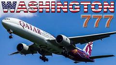 BOEING 777s in action at Dulles Airport (JustPlanes) Tags: boeing 777 777300er dulles airport airline airways emirates qatar korean air saudi arabian united airlines all nippon