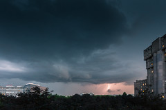 Orage du 29.05.2018 (Matthieu Plante) Tags: orage orages france paris europe lightening eclair thunder clouds cloud nuage nuages noisy le grand arcade storm chaser chasseur canon 6d