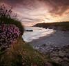 Muffintop (Sarah_Brooks) Tags: seascape cove beach cornwall cornish sunset gunwalloe lizard