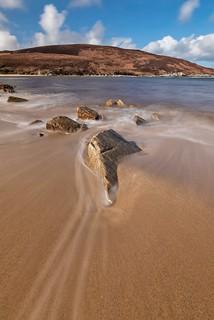 High tide - Achininver Bay, Sutherland