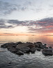 Nordic Midnight (jonengphoto) Tags: finland suomi summer midnight night sun sunset sea seascape rocks clouds colors