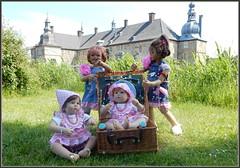 Kindergartenkinder ... (Kindergartenkinder 2018) Tags: kindergartenkinder annette himstedt dolls sanrike milina nannett bebé schloss lembeck dorsten wasserschloss