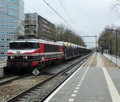 CT/Raillogix 1619 te Rotterdam Alexander (erwin66101) Tags: ns rotterdam alexander station bad bentheim captrain raillogix locomotief autotrein gefco auto trein cargo goederentrein goederen