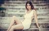 Krizia (Vagelis Pikoulas) Tags: sigma art f14 portrait woman women girl girls italian beautiful beauty canon 6d stairs bokeh 2018 athens europe greece 85mm prime