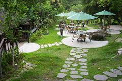 園區一景 (momodie81) Tags: hualien 花蓮 台灣 林田山 森林遊樂區 文化園區 座位 下午茶