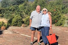 Robert and Ritsa (RobW_) Tags: me robert ritsa winery road restaurant stellenbosch western cape south africa tuesday 20mar2018 march 2018