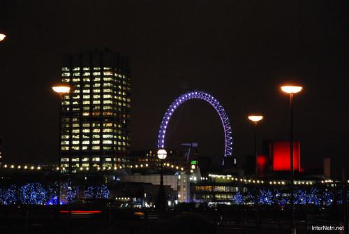Око Лондона вночі InterNetri United Kingdom 0423