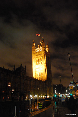 Парламент і Біг Бен Лондон вночі InterNetri United Kingdom 0454